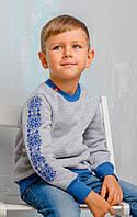 Детский свитшот с вышивкой для мальчика