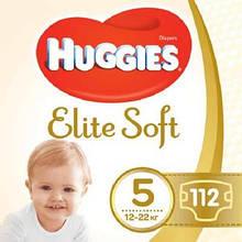 Подгузник Huggies Elite Soft 5 (12-22 кг) 112 шт (5029054566237)