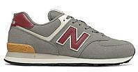 Чоловіче взуття повсякденне New Balance 574 , сірий колір ML574ME2