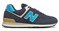 Чоловіче взуття повсякденне New Balance 574, синій колір ML574MS2