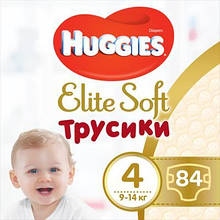 Подгузник Huggies Elite Soft Pants L размер 4 (9-14 кг) Box 84 шт (5029053547107)