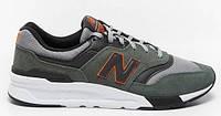 Чоловіче взуття повсякденне New Balance 997, зелений колір CM997HVS