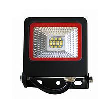 Прожектор Euroelectric LED SMD з радіатором NEW 10W 6500K (LED-FL-10(black)new)