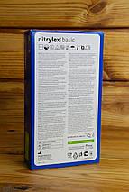 Рукавички нітрилові Mercator Medical, колір Синій, Розмір L (100 шт), фото 3