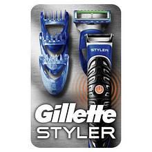 Бритва Gillette Fusion ProGlide Styler с кассетой+3 насадки для бороды/усов (7702018273386)