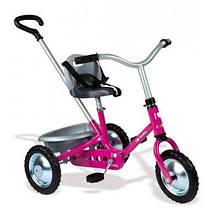 Детский велосипед Smoby Zooky с багажником Розовый (454016)