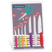 Набор ножей Tramontina Plenus 8 предметов (7 ножей + ножницы) (23498/917)