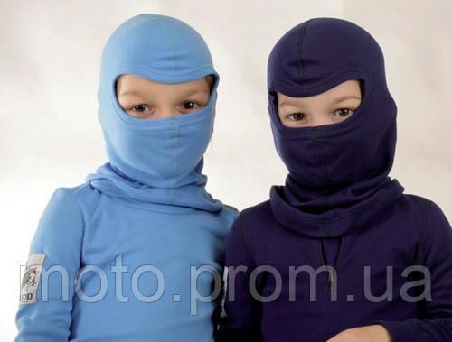 Защитные детские подшлемники маски балаклавы разноцветные