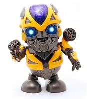 Інтерактивна іграшка DANCING ROBOT жовтий, Дитяча іграшка робот, Танцюючий робот