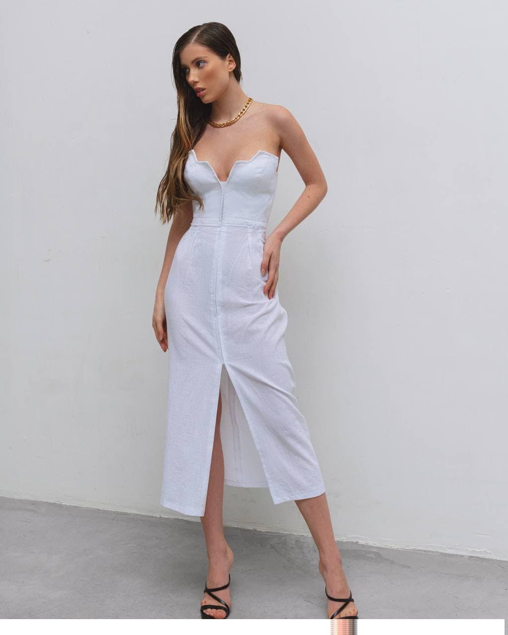 Платье-сарафан женское AniTi 625, белый