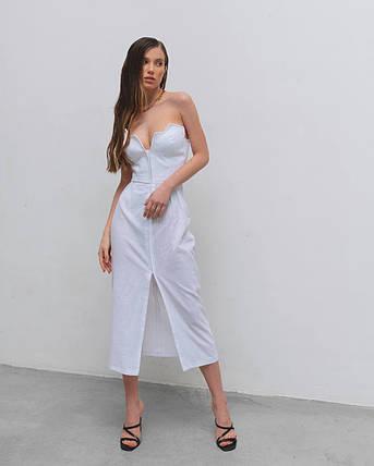Платье-сарафан женское AniTi 625, белый, фото 2