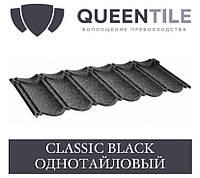 QUEENTILE CLASSIC BLACK Композитна черепиця 1-тайловый лист, фото 1