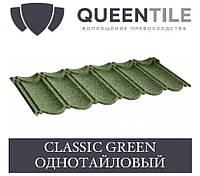 QUEENTILE CLASSIC GREEN Композитна черепиця 1-тайловый лист, фото 1