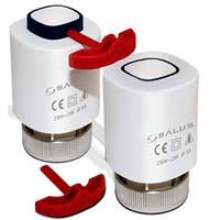 Термопривид   Salus комплектуючі електроприводи оп нормально - открытый M30x1,5 230 В (T30NO 230V M30x1,5)