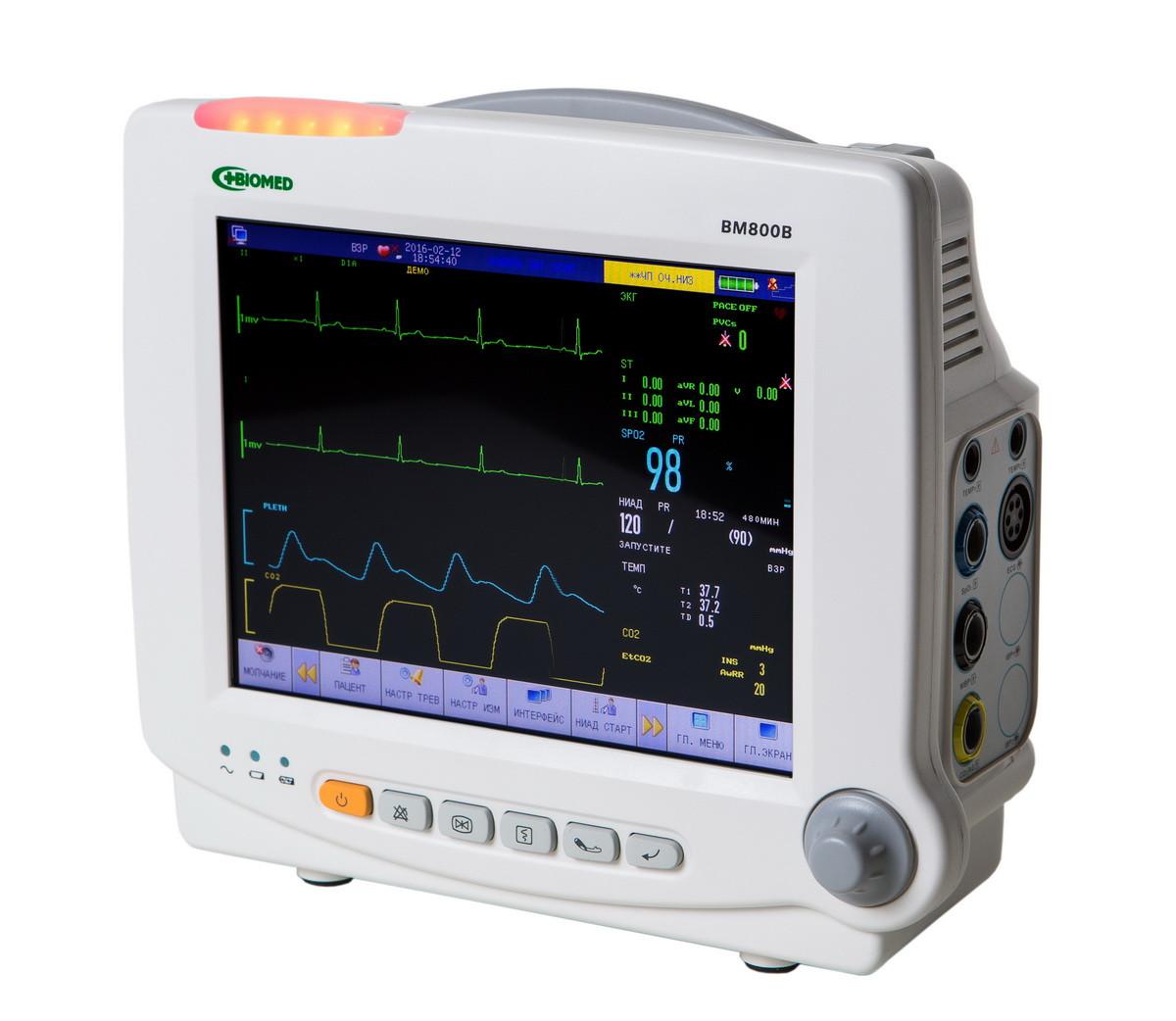 """Монитор пациента STAR8000H (""""БІОМЕД"""" ВМ800В)"""
