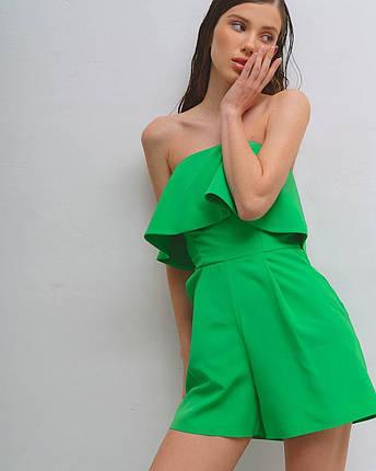 Комбинезон женский летний с шортами AniTi 803, зеленый, фото 2