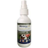 Microcyn Wound & Skin Care Spray микроцинов спрей для обробки ран і догляду за шкірою всіх видів тварин