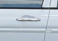 Honda Civic Sedan VIII 2006-2011 гг. Накладки на ручки (4 шт, нерж.)