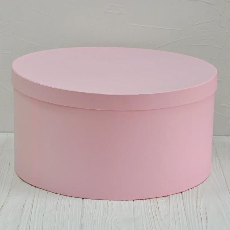 Шляпная круглая коробка d=40 h=20 см