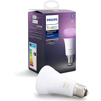 Philips Hue White And Color Ambiance E27 9W 806 lm Apple HomeKit