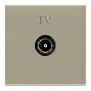 Розетка ТВ, шампань, Zenit ABB N2250.7 CV