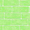 Ярко зеленые немецкие обои 359813 с выпуклыми декоративными изящными кирпичами, моющиеся для детской комнаты, фото 2