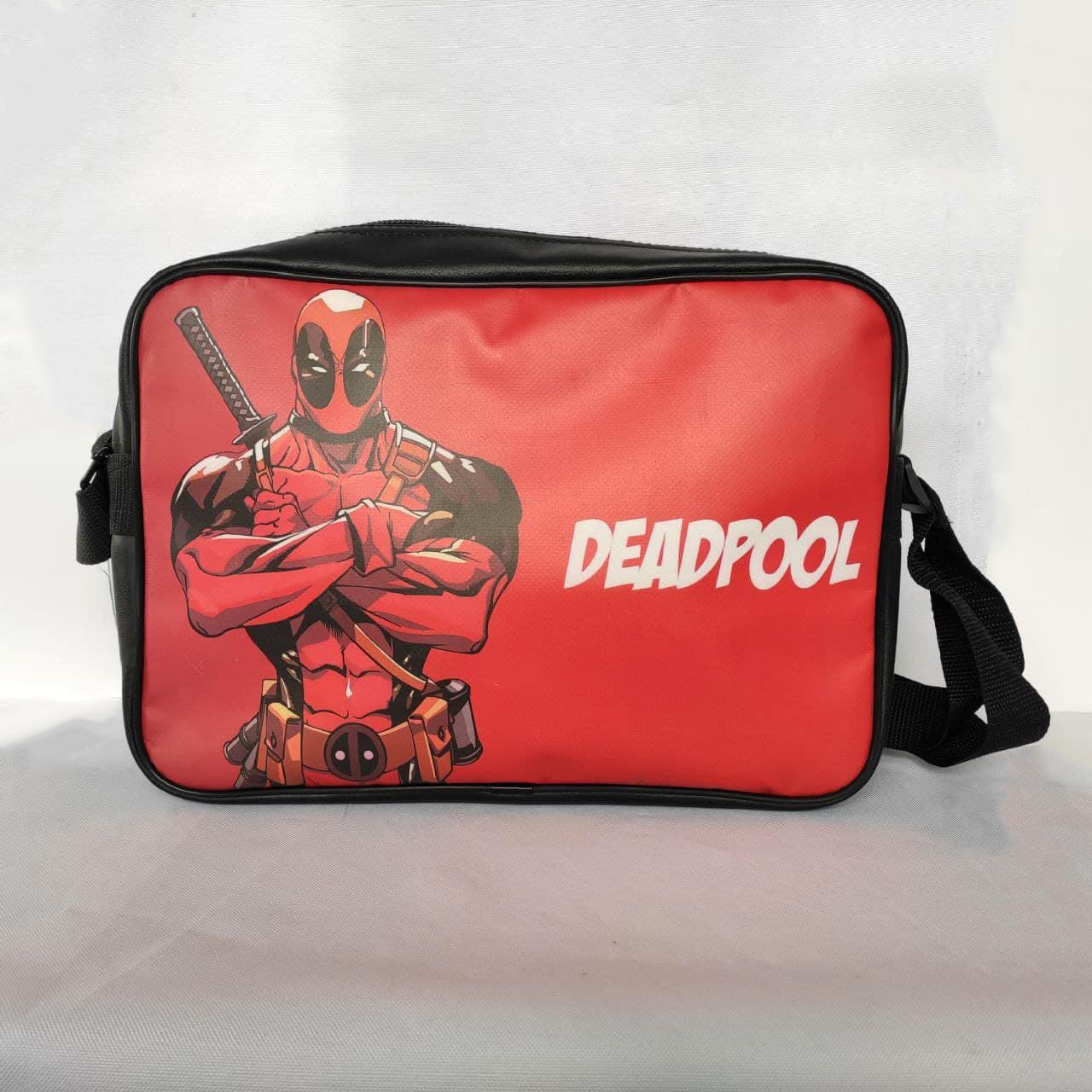 "Сумка формату А4 через плече ""Deadpool"""