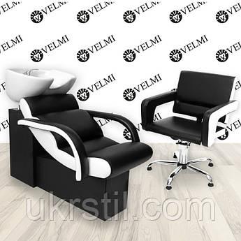 Комплект парикмахерской мебели Cheap One с креслом Flamingo