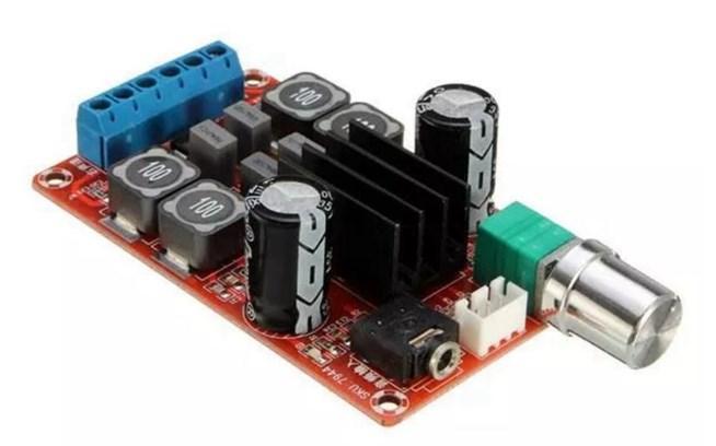 Стерео Аудіо Підсилювач Потужності 2×50 Вт TPA3116D2