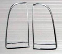 Toyota Hilux 2006-2015 гг. Накладки на стопы (2 шт, пласт)
