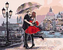 Картина по номерам BrushMe Пара в Венеции (BS9991) 40 х 50 см (Без коробки)