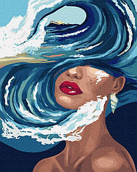 Картина по номерам Brushme Океан мыслей (PGX37549) 40 х 50 см
