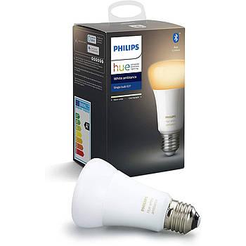 Умная светодиодная лампочка Philips Hue White Ambiance E27 8.5 W, Apple HomeKit (1 шт.)