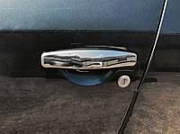 Nissan Terrano 2014↗ гг. Накладки на ручки (4 шт, нерж)