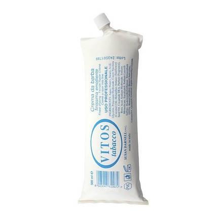 Крем для гоління тютюн Vitos Shaving Cream 500мл