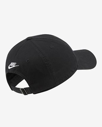 Кепка чоловіча Nike Sportswear Heritage86 CQ9512-010 Чорний, фото 2