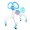 Ходунки - беговел четырёхколёсный с ушками-ручками BABY WALKER Smile, синий