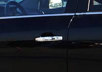Opel Signum 2005↗ гг. Накладки на ручки (4 шт., нерж.) OmsaLine - Итальянская нержавейка