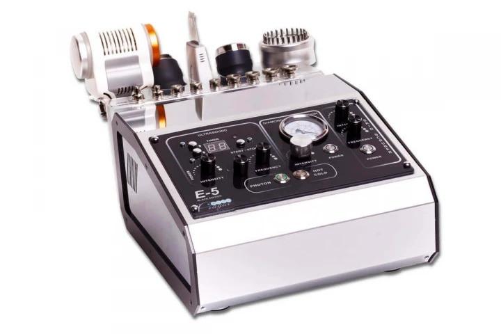 Косметологічний багатофункціональний апарат E-5 з функціями фототерапії, теплотерапии, криотерпаии+2функции