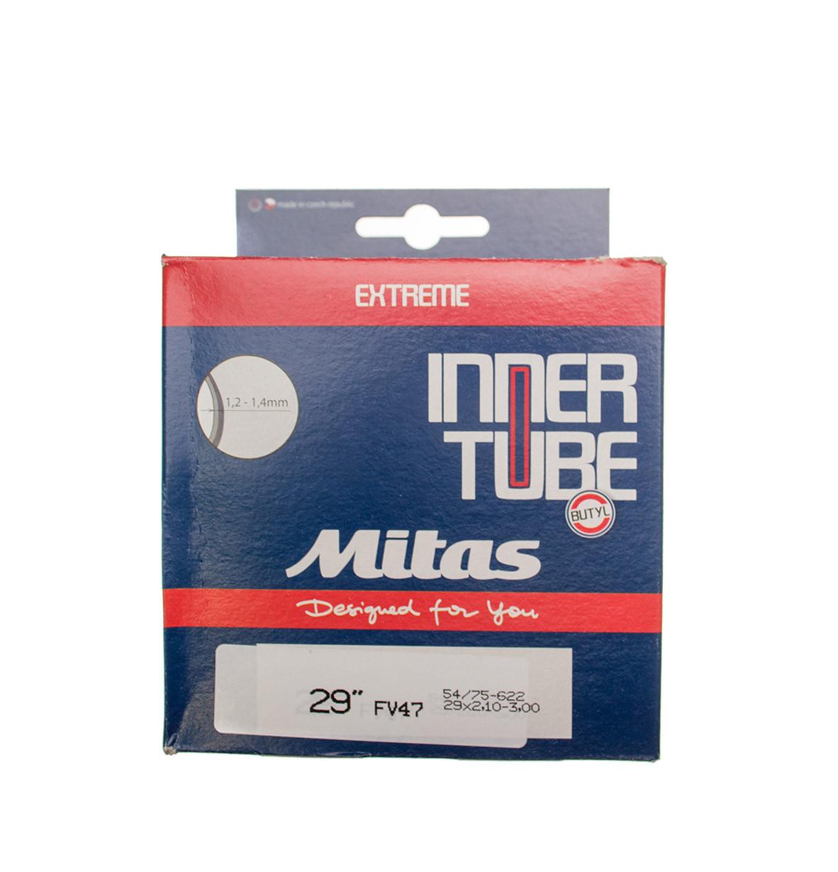 "Камера Mitas A11-X EXTREME SBC 28-29""x2.10-3.00"" (54/75x622) FV 47мм"