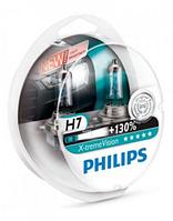 Галогеновые лампы Philips H7 12972XVS2New X-treme Vision +130% Blister (2шт.), фото 1