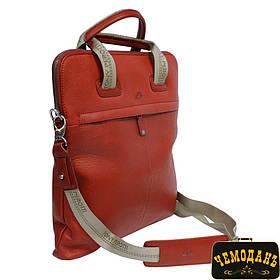 Сумка кожаная Contatto 9203-32 rosso красный