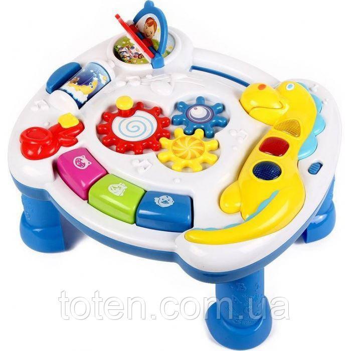 Розвиваючий столик Розумний Я ZYE-0050 Ігрова панель, звукові та світлові ефекти