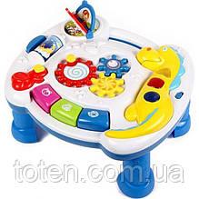 Развивающий столик Умный Я ZYE-0050 Игровая панель, звуковые и световые эффекты