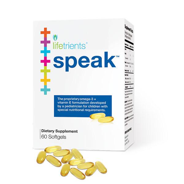 Speak Softgels – 60 Caps. / Speak Спик Омега 60 капсул