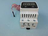 Цифровий 2-х пороговий терморегулятор з посиленими клемах Далас-40 А / 220 В., фото 2