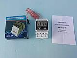 Цифровий 2-х пороговий терморегулятор з посиленими клемах Далас-40 А / 220 В., фото 3