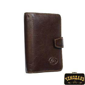 Блокнот карманный кожаный Italico 1649 moro коричневый