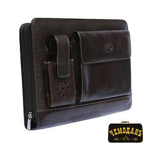 Блокнот кожаный Italico 1367 moro коричневый