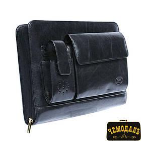 Блокнот кожаный Italico 1367 nero черный